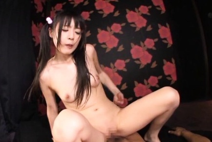 Tsubomi asian loses bra during sucking and is doggy screwed. Tsubomi Asian loses bra during cock sucking and is doggy screwed